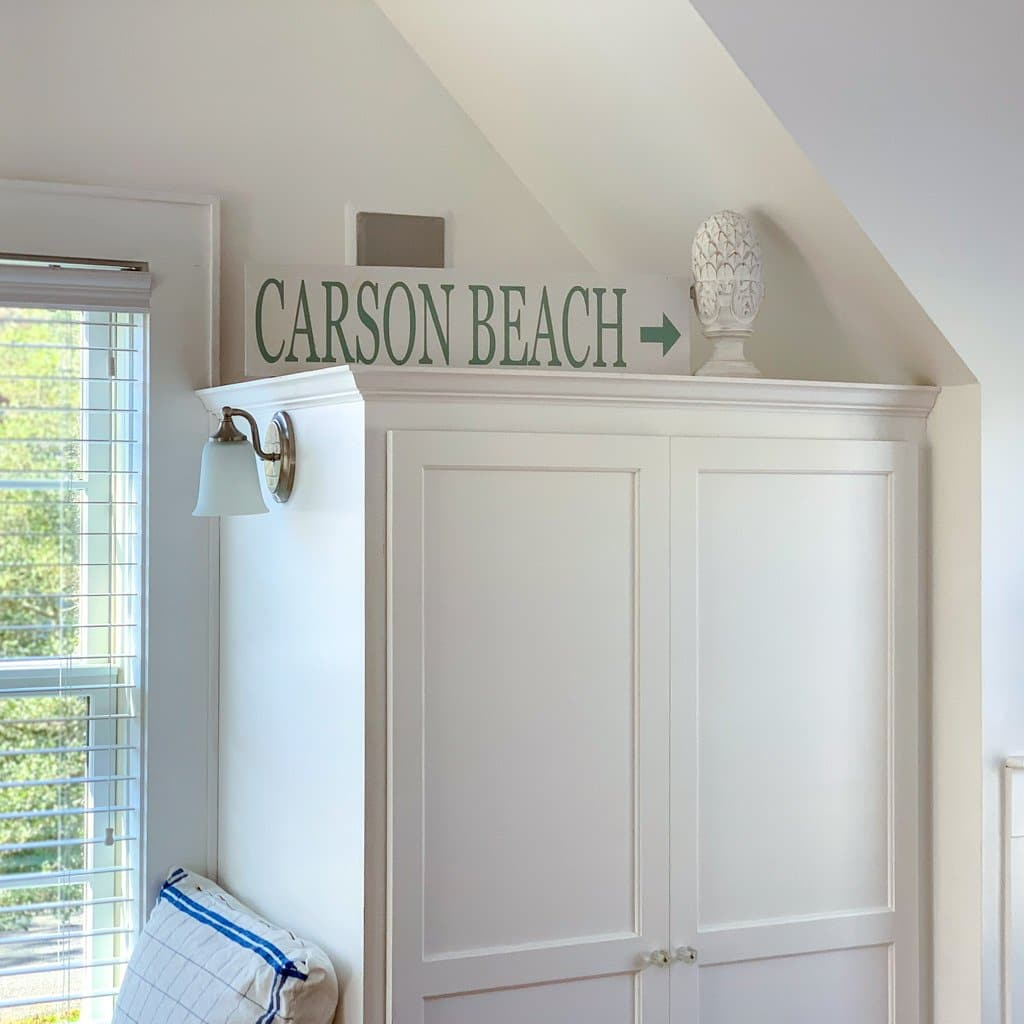 Carson Beach - Wall Décor - Wood Sign