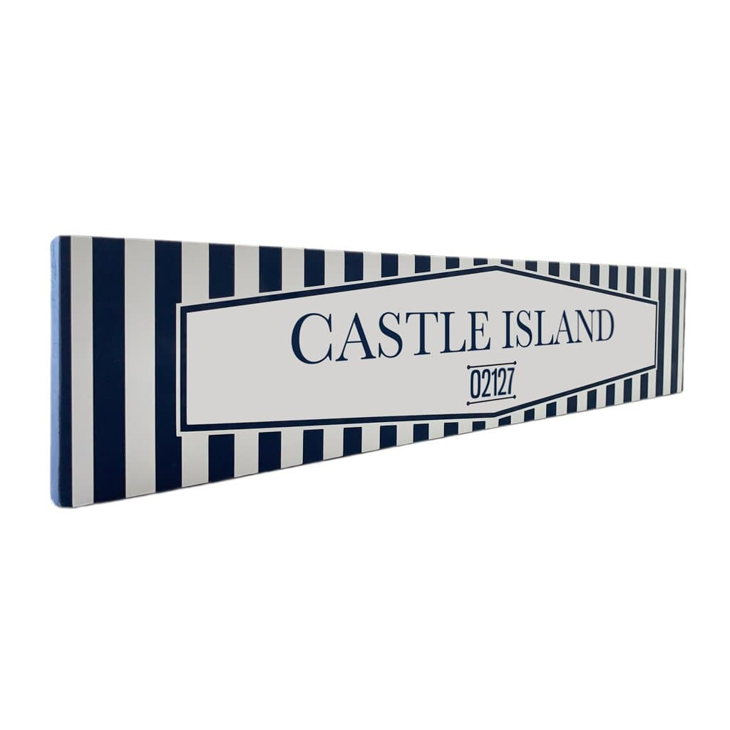 Castle Island - Off The Square - Wall Décor - Wood Sign