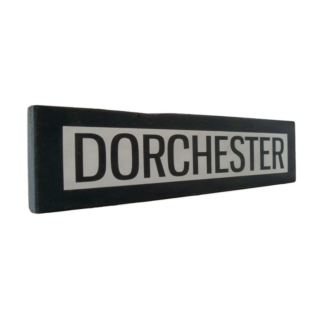 Dorchester - One Way - Wall Décor - Wood SIgn