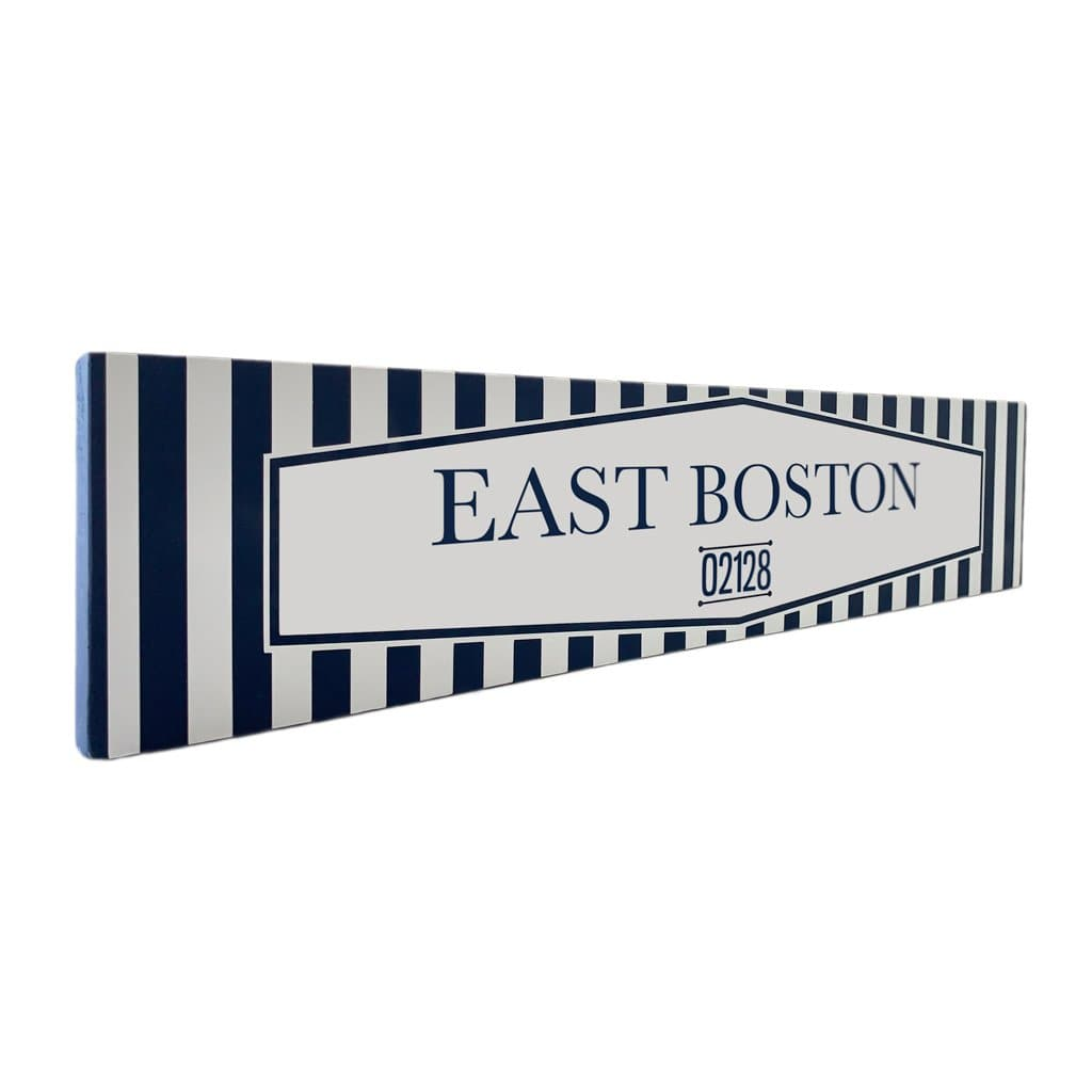 East Boston - Off The Square - Wall Décor - Wood Sign