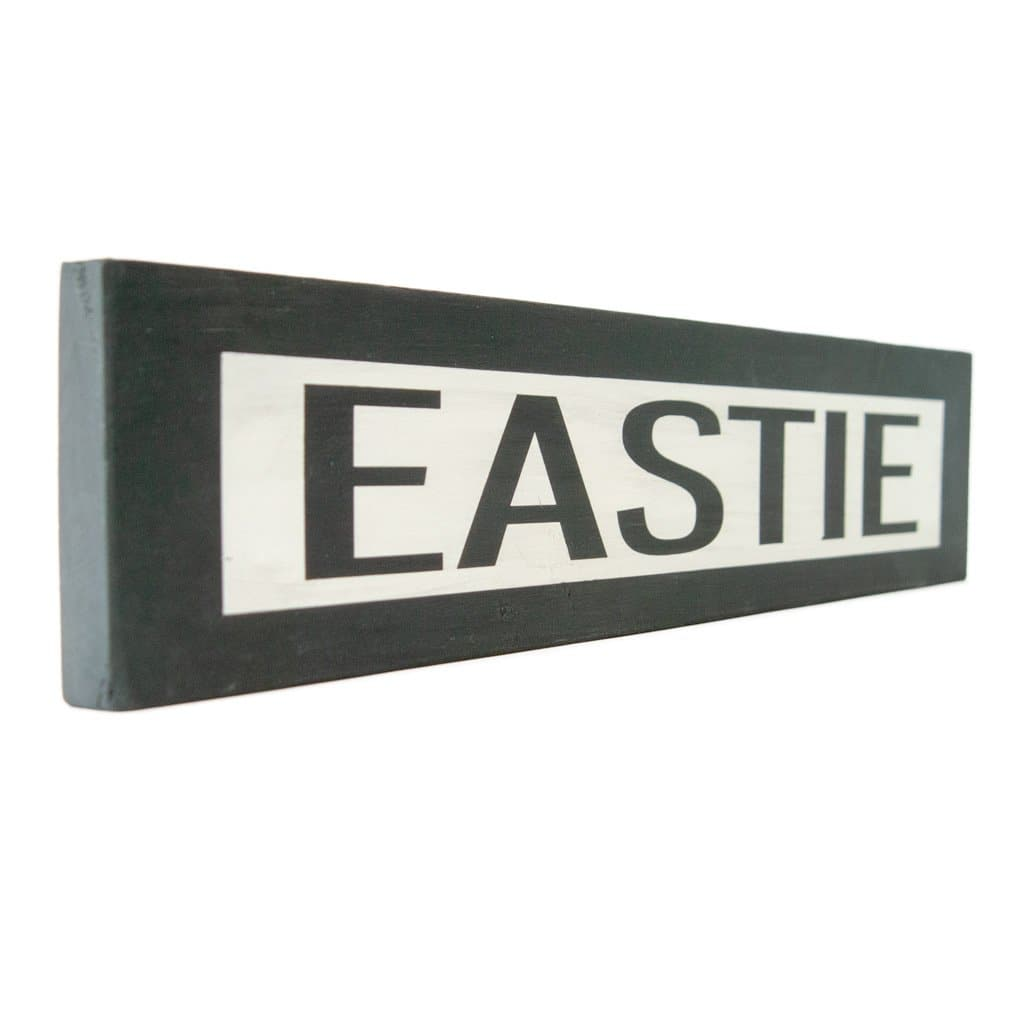 Eastie - One Way - Wall Décor - Wood Sign