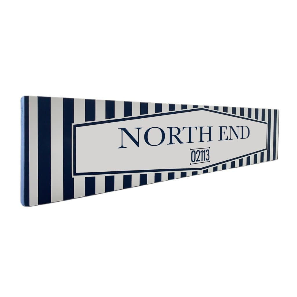 North End - Off The Square - Wall Décor - Wood Sign