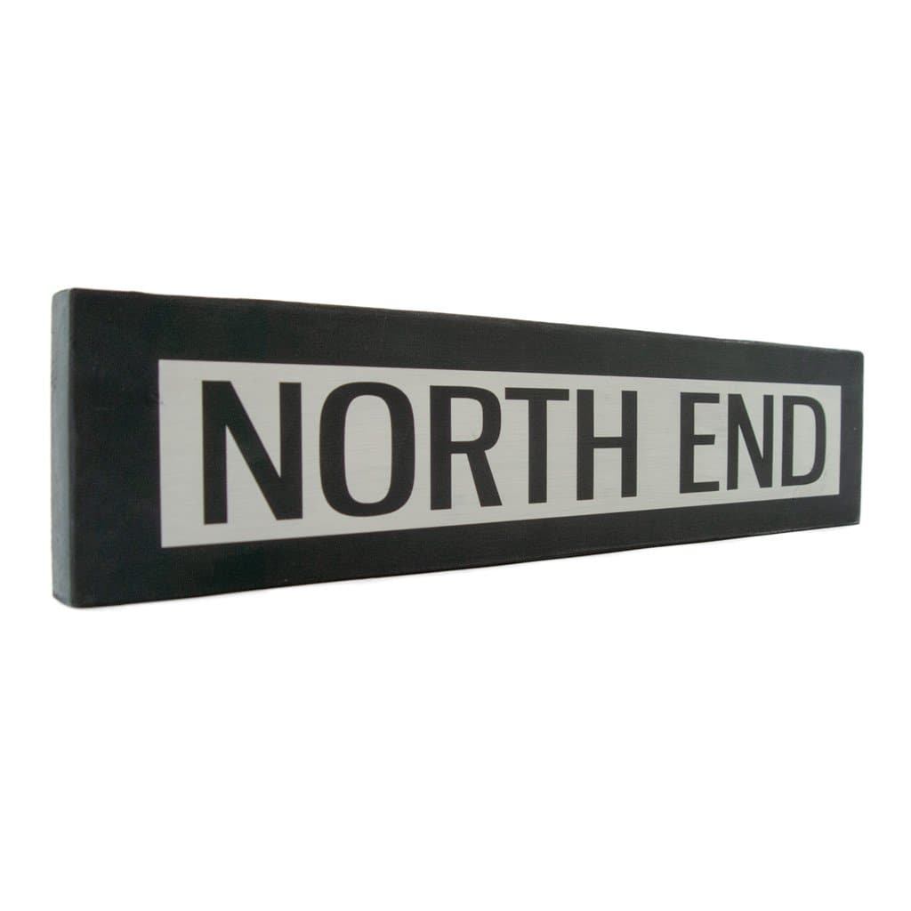 North End - One Way - Wall Décor - Wood Sign