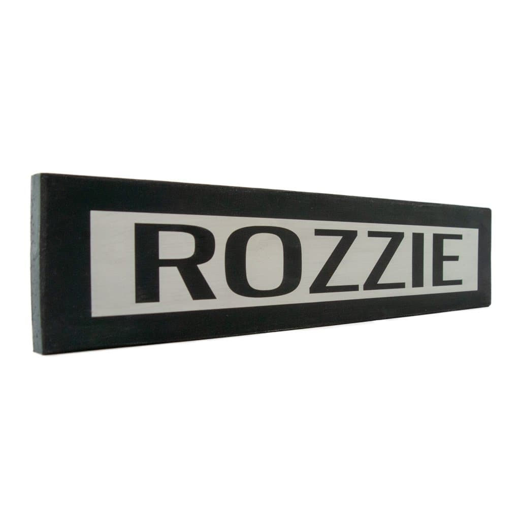 Rozzie - One Way - Wall Décor - Wood Sign
