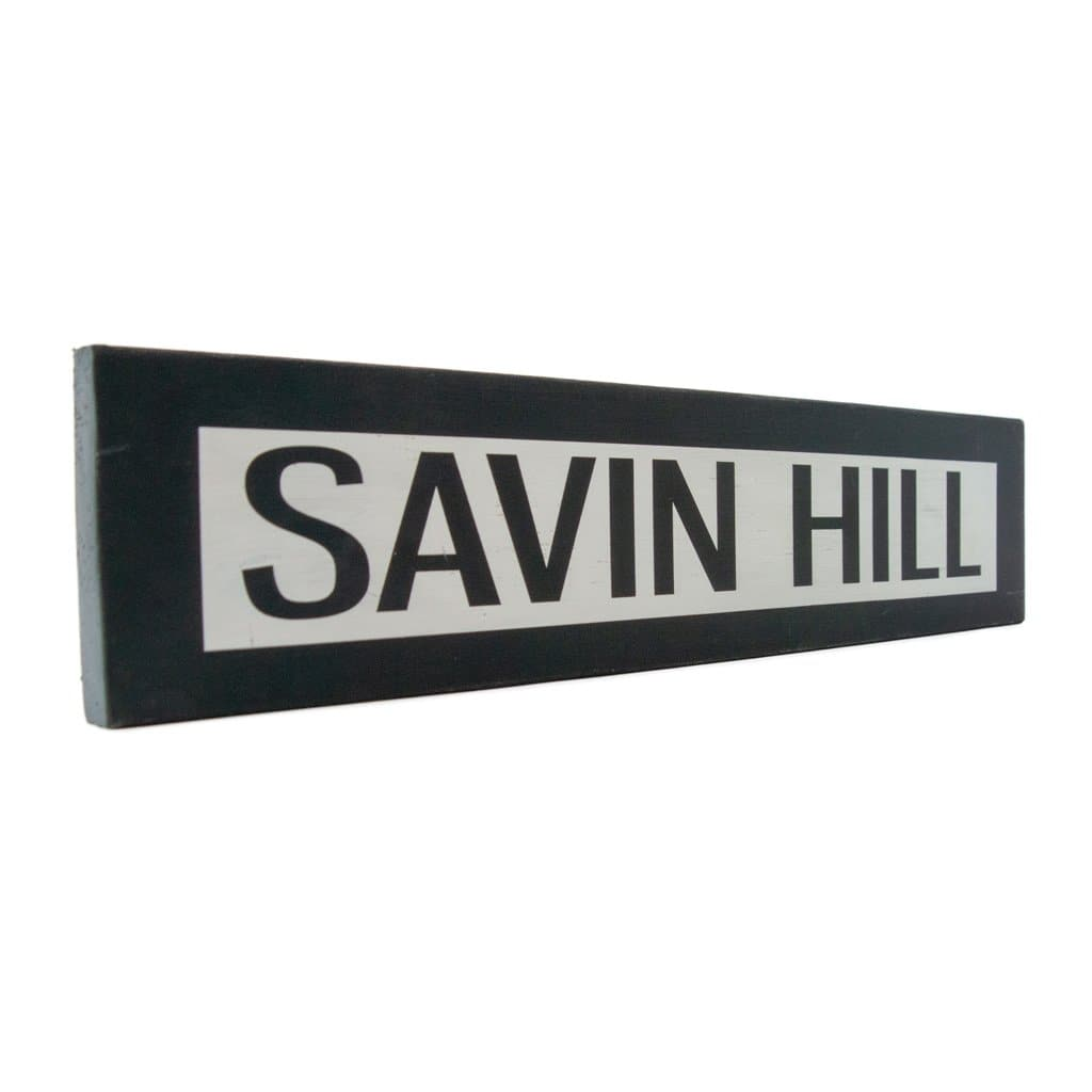 Savin Hill - One Way - Wall Décor - Wood Sign