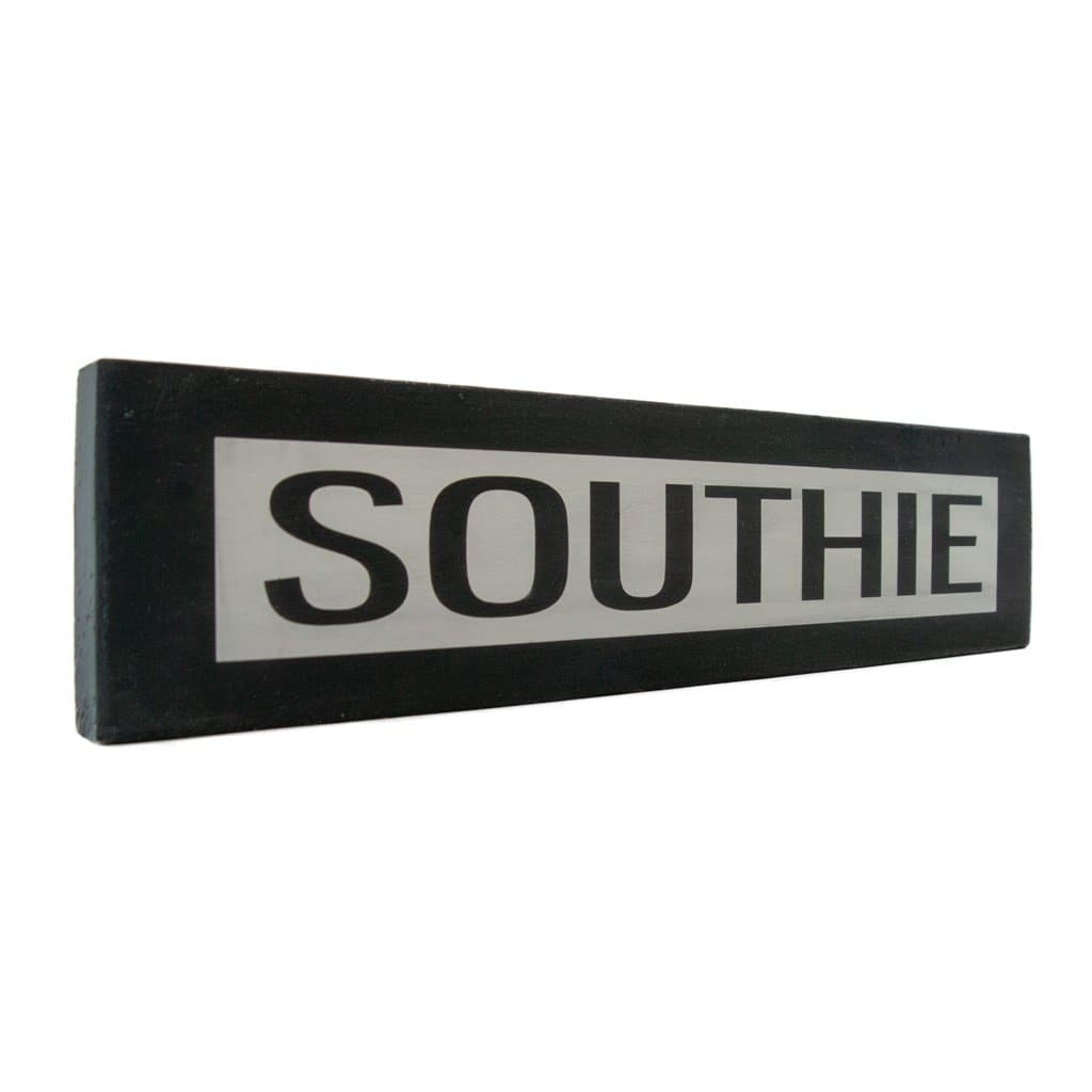 Southie -One Way - Wall Décor - Wood Sign