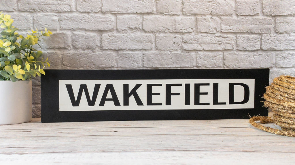 Wakefield - One Way - Wall Décor - Wood Sign