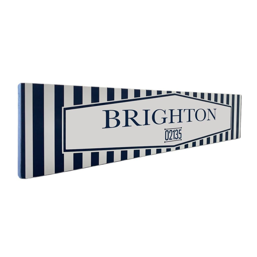Brighton - Off The Square - Wall Décor - Wood Sign