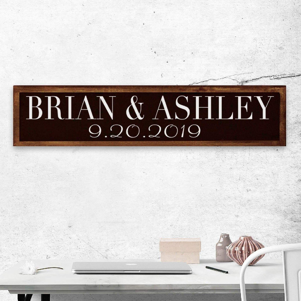 Customizable Anniversary Date - Wedding - Special Occasion Sign