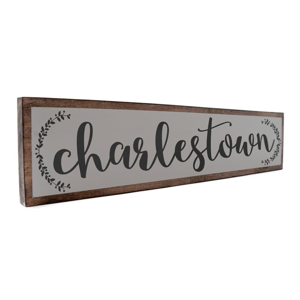 Charlestown - Farmhouse - Wall Décor - Wood Sign