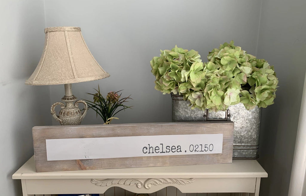 Chelsea 02150 - Simple - Wall Décor - Wood Sign