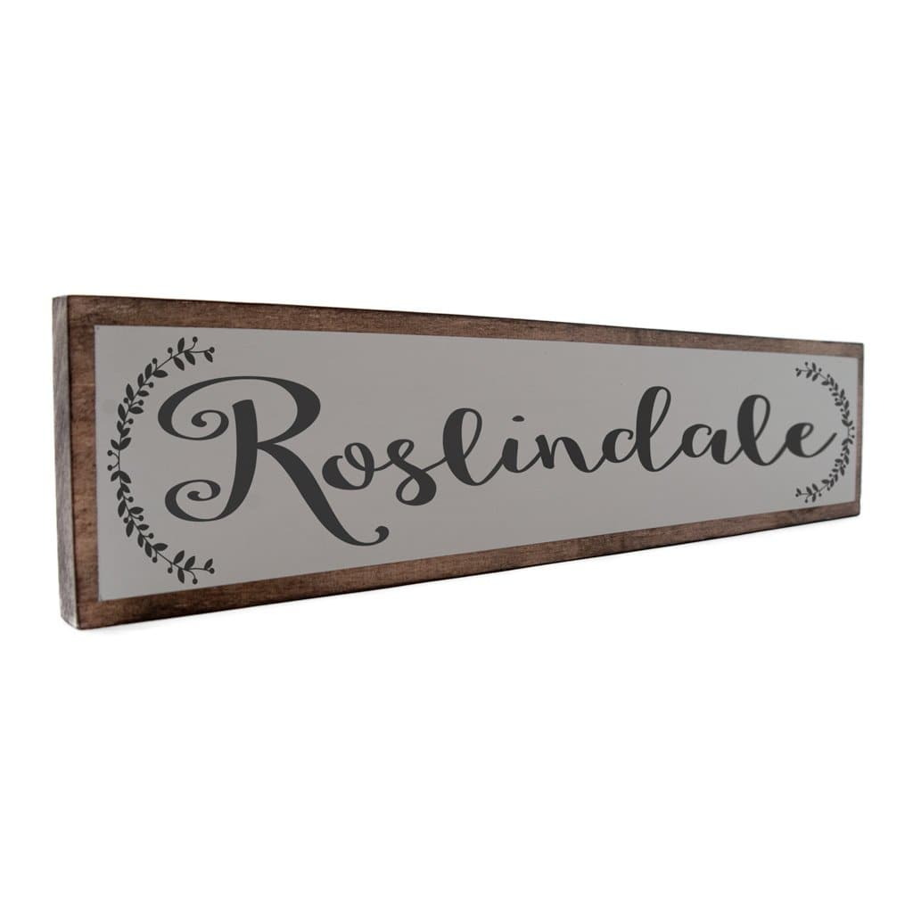 Roslindale - Farmhouse - Wall Décor - Wood Sign