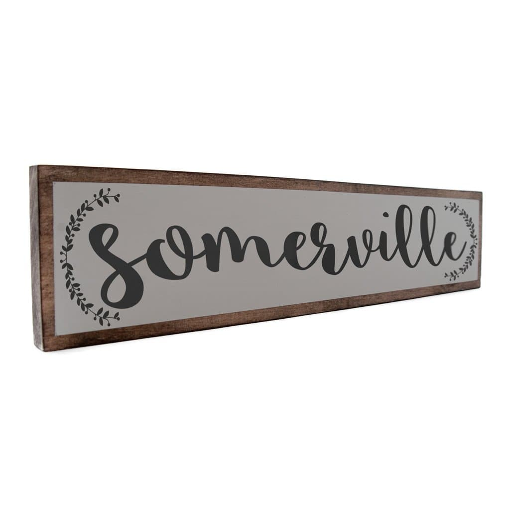Somerville - Farmhouse - Wall Décor - Wood Sign