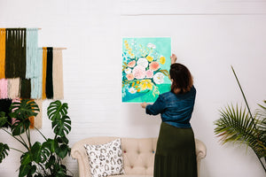 You Bought the Art. Now What? Tips for Hanging Art in Your Home