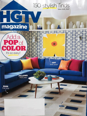 HGTV Magazine May 2018