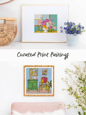 Print Pairings for Your Walls