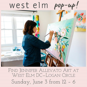 June 3rd West Elm DC Pop-Up!