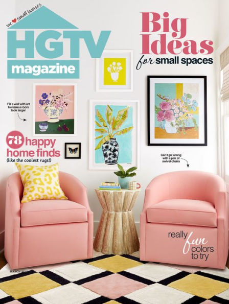HGTV Magazine march 2019 cover