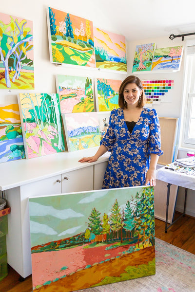 Jennifer Allevato Fine Art painter new landscapes collection
