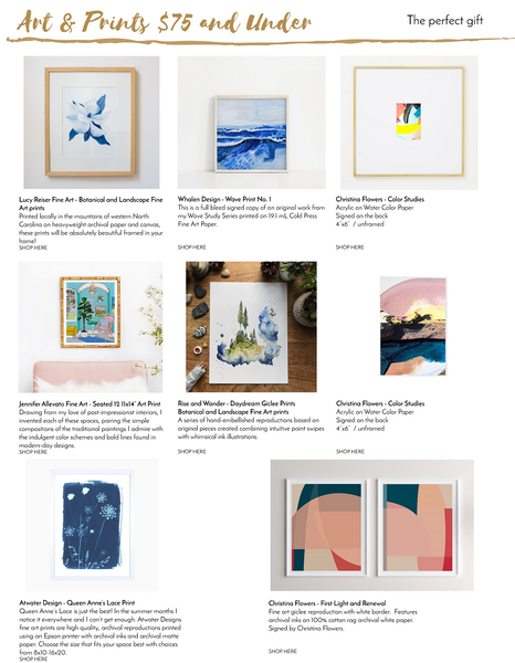 The Artful Gift Guide 2019 preview