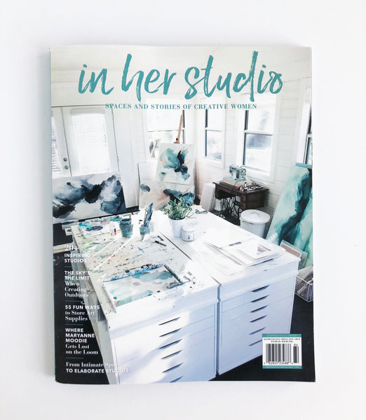 In Her Studio magazine winter 2019 issue
