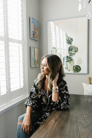kb styled blog at home with Minted Jennifer Allevato art print