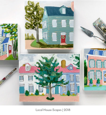 local house scapes by jennifer allevato fine art