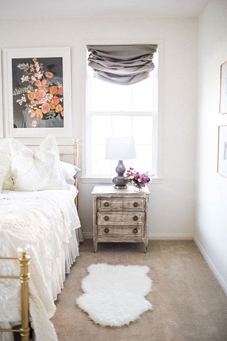Mint Arrow blog Master Bedroom Reveal Jennifer Allevato Minted art print