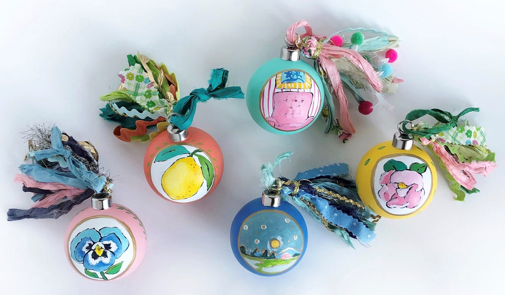 Ornaments by Jennifer Allevato Fine Art