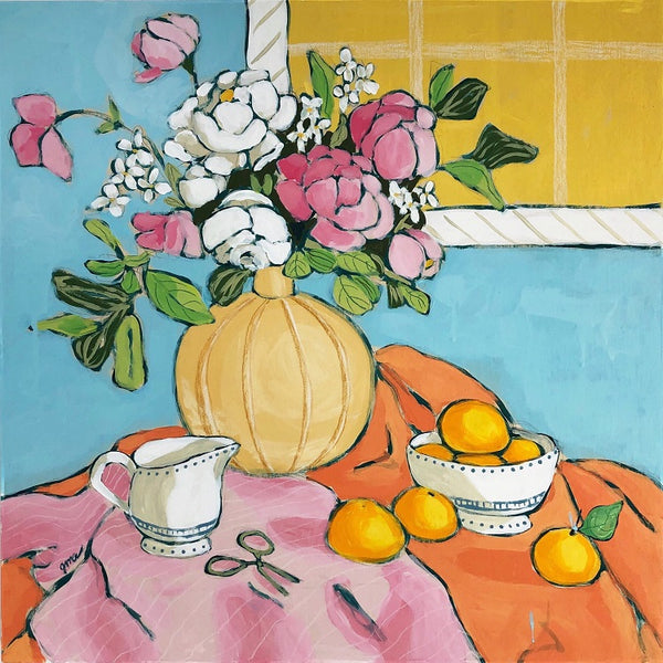 Still Life with Sunshine painting by Jennifer Allevato Fine Art