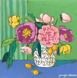 A Room for Flowers 1 painting by Jennifer Allevato