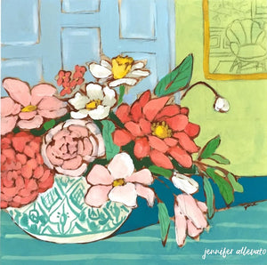 A Room for Flowers 2 painting by Jennifer Allevato