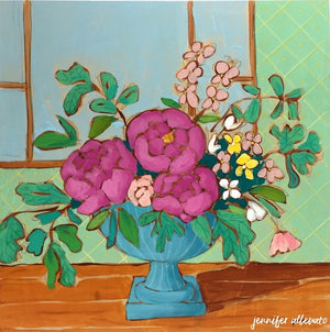A Room for Flowers 5 painting by Jennifer Allevato