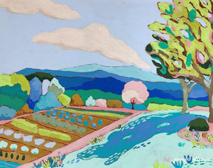 Albemarle County landscape painting by Jennifer Allevato