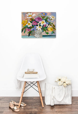 A Lovely Tomorrow floral painting by Jennifer Allevato