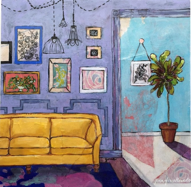 "Dream Room 1, 10""x10"""