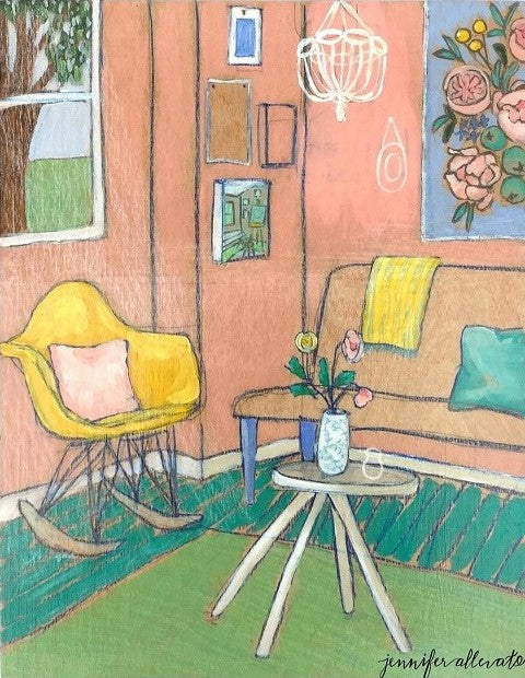 "Dream Room 4, 11""x14"""