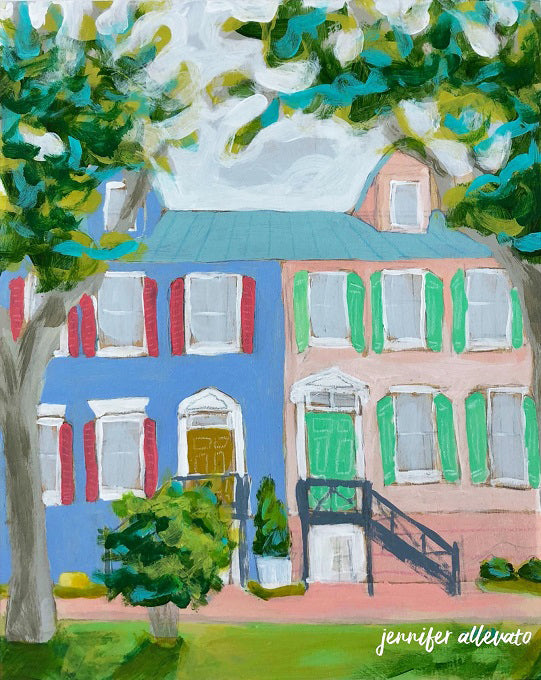 Feels Like Home painting by Jennifer Allevato