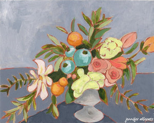 From a Table in Beaufort painting by Jennifer Allevato