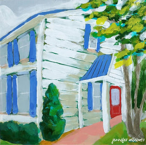 Green Green Grass of Home painting by Jennifer Allevato