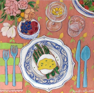 "Hollandaise and a Fruit Cup, 10""x10"""