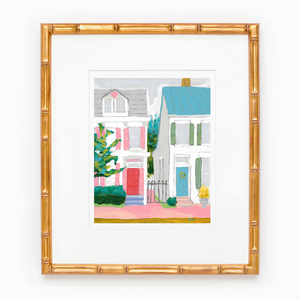Home Sweet Home art print by Jennifer Allevato