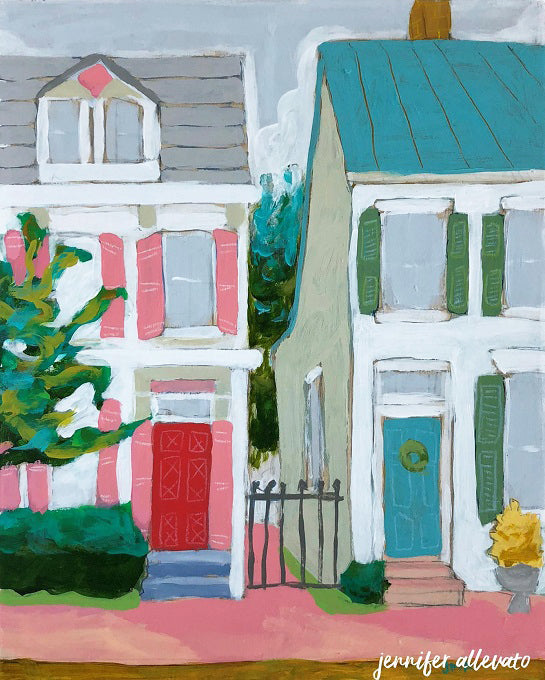 Home Sweet Home painting by Jennifer Allevato
