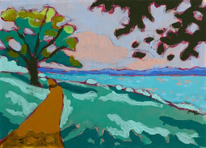 "Potomac River Views 4, 5""x7"" (framed)"