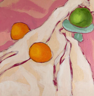 Still Life with a Landscape painting by Jennifer Allevato fine art