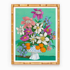 The Perfect Day floral print by Jennifer Allevato