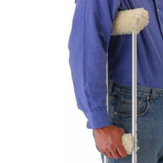 Nova Medical Crutch Cover Set Fleece Nova Medical Crutch Cover Set Fleece Crutch Covers Nova - Americare Medical Supply