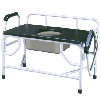 Drive Extra-Large Bariatric Drop Arm Commode Drive Extra-Large Bariatric Drop Arm Commode Commode Americare Medical Supply - Americare Medical Supply