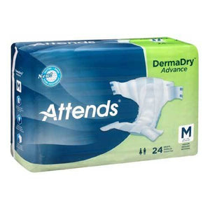 Attends Tab Closure Incontinent Briefs - Moderate Absorbency Attends Tab Closure Incontinent Briefs - Moderate Absorbency Fitted Tab Briefs Attends - Americare Medical Supply