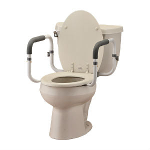 Nova Medical Toilet Support Rails Nova Medical Toilet Support Rails Toilet Seat Risers Nova - Americare Medical Supply
